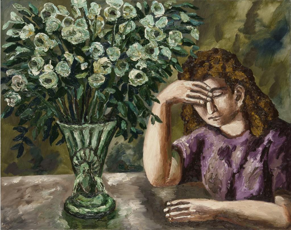 Le vase vert. 2005. Холст, масло. 73х92