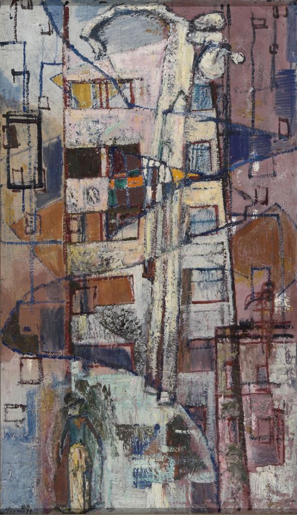 1. Орфей. 1970-1979. Холст, масло. 120х70