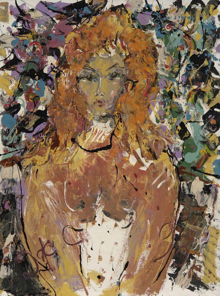 13. Портрет. 1990. Холст, масло. 80х60
