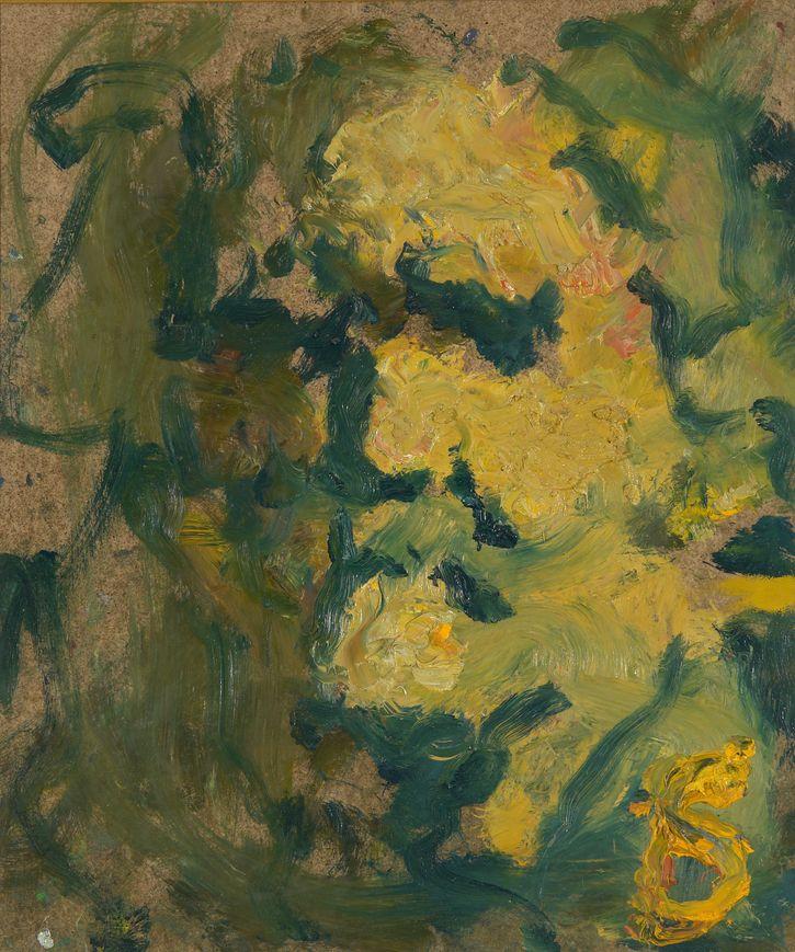 17. Автопортрет. 1997. Оргалит, масло. 60х50