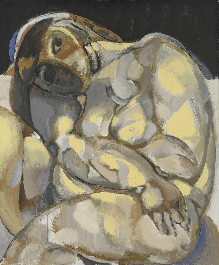 2. Фигура на темном фоне. 2010. Холст, масло. 120х100