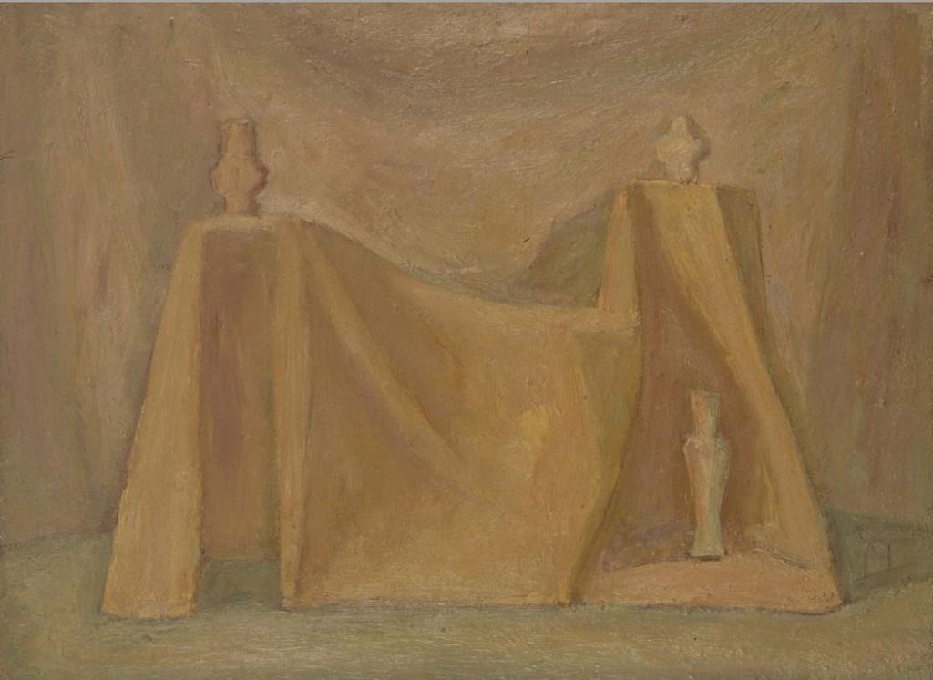 3. Натюрморт на розовом фоне. 1976. Холст, масло. 54х73