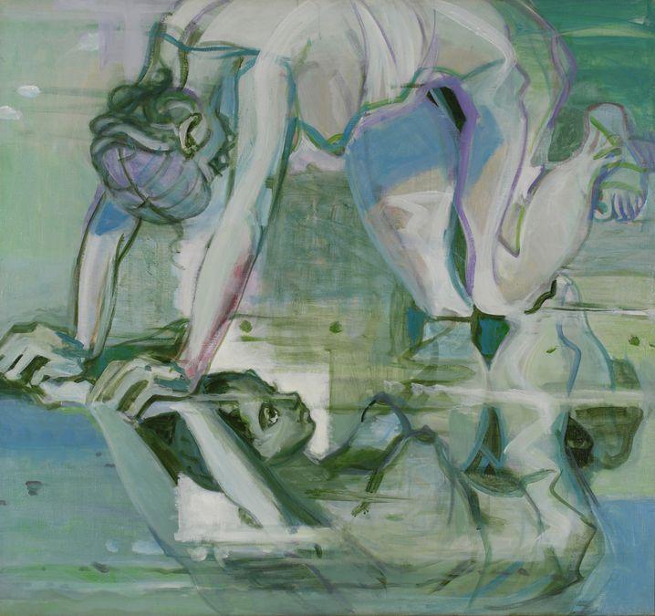 4. Художник и модель. 2008. Холст, масло, акрил. 130х140