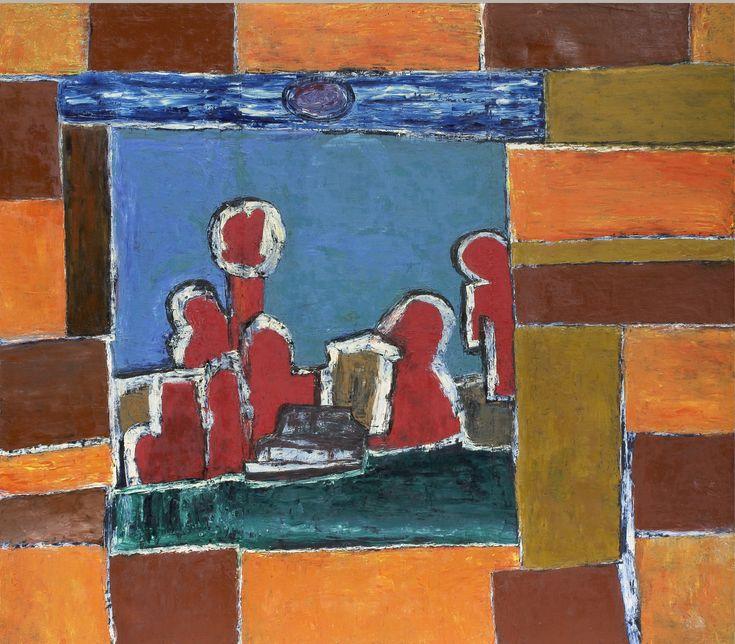40. В Барвихе (из Питера). 2008. Холст, масло. 190х215
