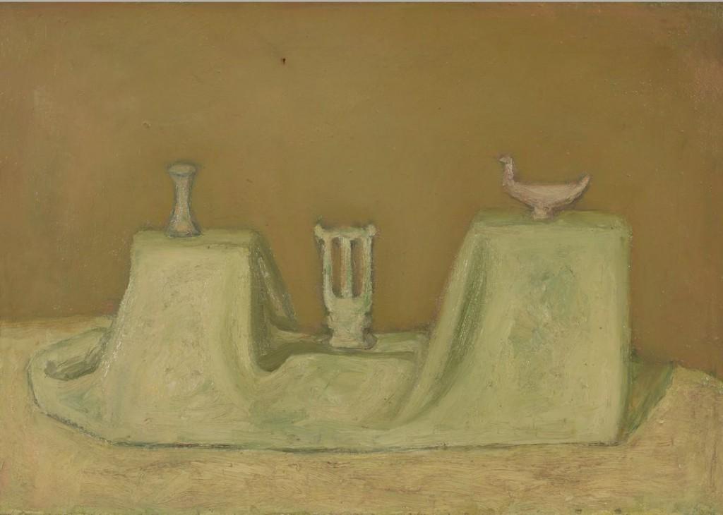 5. Зеленый натюрморт. 1978. Холст, масло. 50х70