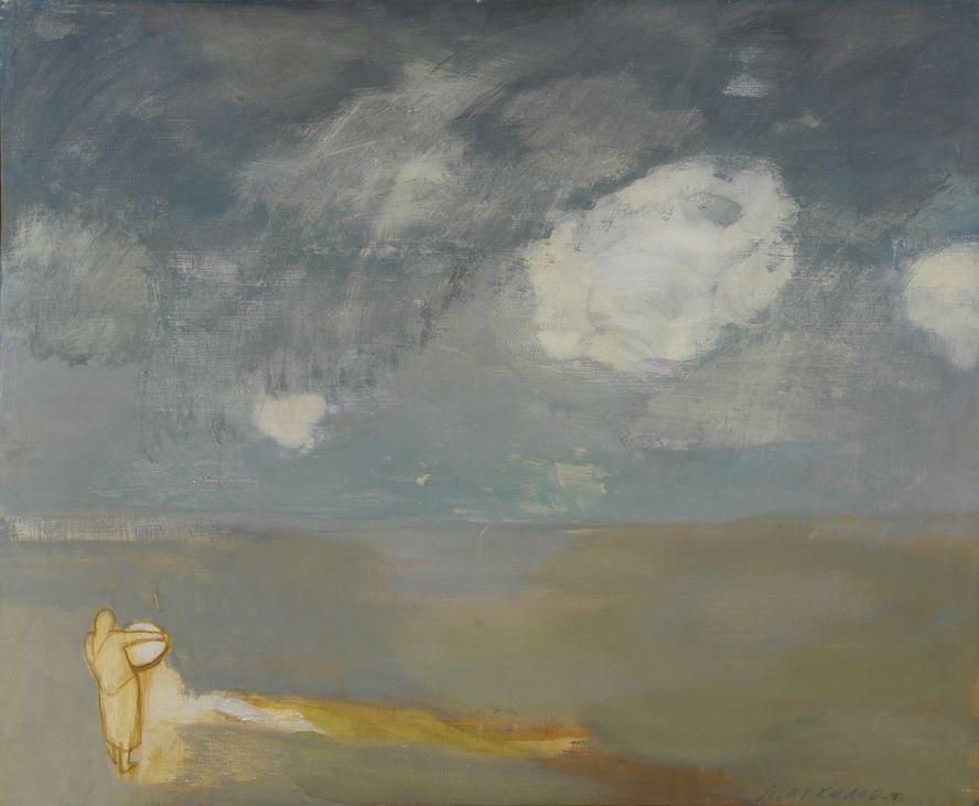 5. Облако. 1989. Холст, масло. 90х110