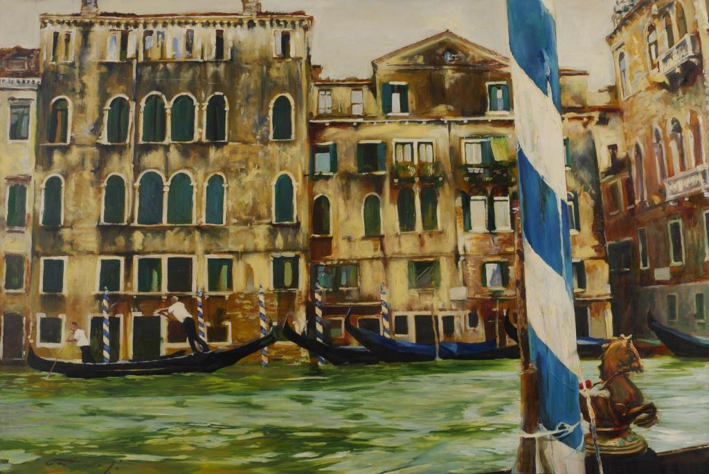Венеция. 2008. Холст, масло. 110х150